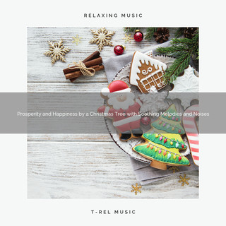 Prosperity And Happiness By A Christmas Tree With Soothing Melodies And Noises