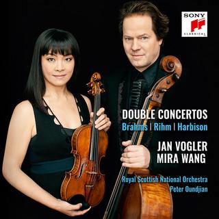 Brahms, Rihm, Harbison:Double Concertos