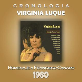 Virginia Luque Cronologia - Homenaje A Francisco Canaro (1980)