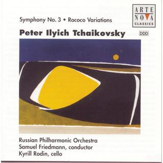 Tchaikovsky:Symphony No.3 / Rokoko Variations