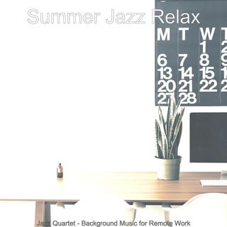Jazz Quartet - Background Music For Remote Work