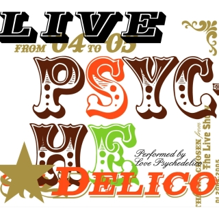 LIVE PSYCHEDELICO  原音魔幻精選