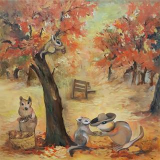 秋天結束的時候