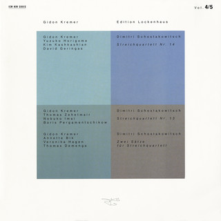 Edition Lockenhaus Vol. 4 & 5