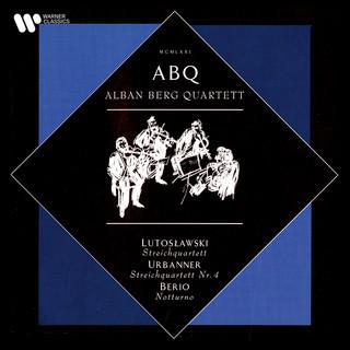 Lutosławski:Streichquartett - Urbanner:Streichquartett No. 4 - Berio:Notturno