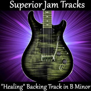 Healing Dynamic Rock Ballad Guitar Backing Track In B Minor