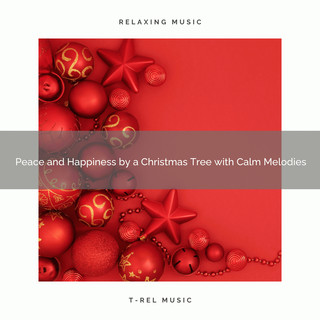 Peace And Happiness By A Christmas Tree With Calm Melodies