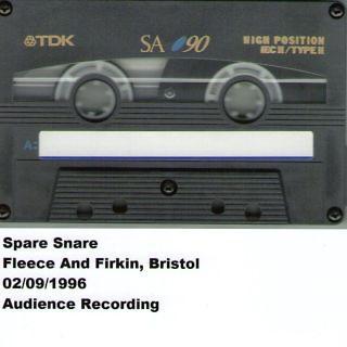 Fleece And Firkin, Bristol, 02. 09. 1996