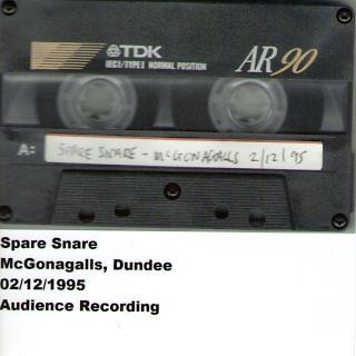 Mcgonagalls, Dundee, 02. 12. 1995