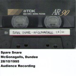 Mcgonagalls, Dundee, 28. 10. 1995