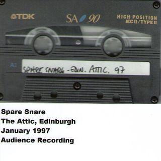 The Attic, Edinburgh, January 1997
