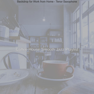 Backdrop For Work From Home - Tenor Saxophone