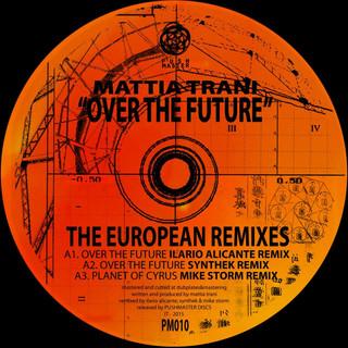 Over The Future - The European Remixes EP