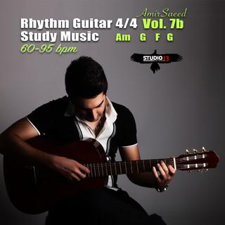 Rhythm Guitar 4 / 4 Am G F G, Pt.1, Vol.1