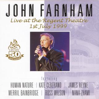 John Farnham Live At The Regent Theatre