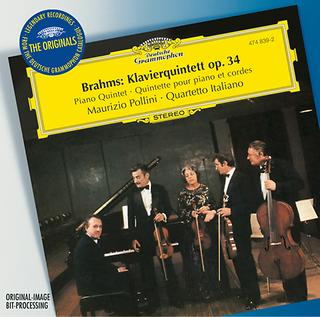 Brahms:Piano Quintet Op. 34