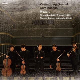 モーツァルト: 弦楽四重奏曲 ハ長調 K. 465 「不協和音」 / クラリネット五重奏曲 イ長調 K. 581