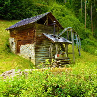 Mill In France In Forestry Nature