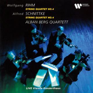 Rihm & Schnittke:String Quartets No. 4 (Live At Vienna Konzerthaus, 1990)