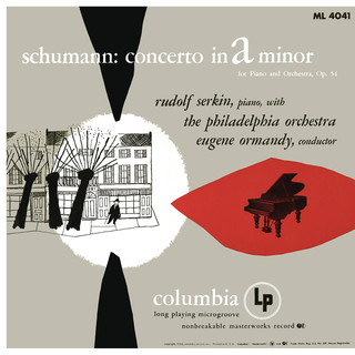Schumann:Concerto For Piano And Orchestra In A Minor, Op. 54