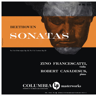 Beethoven:Violin Sonatas Nos. 3 & 4 (Remastered)