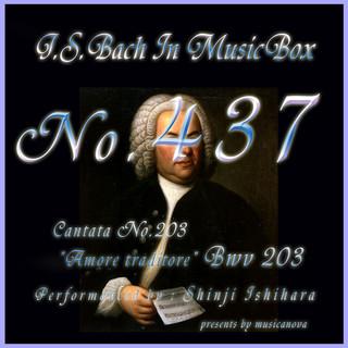 J・S・バッハ:カンタータ第203 裏切り者なる愛よ BWV203(オルゴール) (J.S.Bach:Amore traditore, BWV 203 (Musical Box))