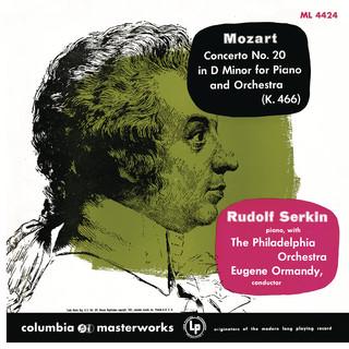 Mozart:Piano Concerto No. 20 In D Minor, K. 466 & Piano Concerto No. 22 In E - Flat Major, K. 482