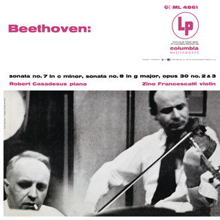 Beethoven:Violin Sonatas 7 & 8 (Remastered)
