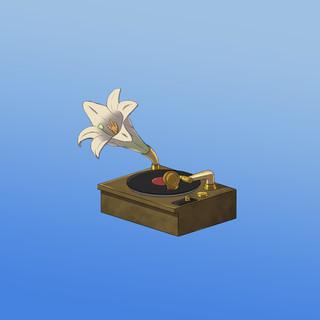 Vinyl Flower