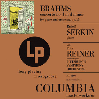 Brahms:Concerto No. 1 In D Minor For Piano And Orchestra, Op. 15