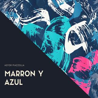 Marron Y Azul