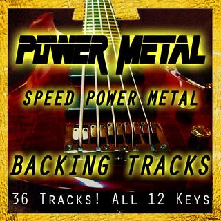 No Bass Power Speed Metal Play Along Tracks | All 12 Keys