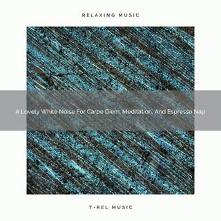 A Lovely White Noise For Carpe Diem, Meditation, And Espresso Nap