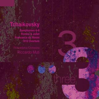 Tchaikovsky:Symphonies 4 - 6