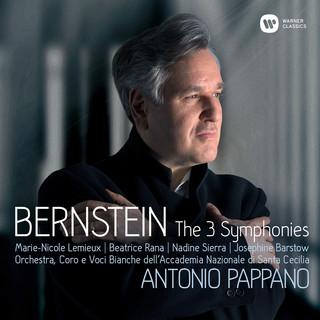 Bernstein:Symphonies Nos 1 - 3, Prelude, Fugue & Riffs