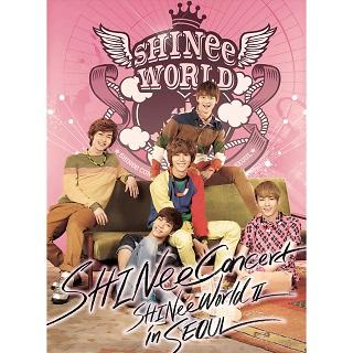 SHINee THE 2nd CONCERT ALBUM <SHINee WORLD Ⅱ in Seoul>