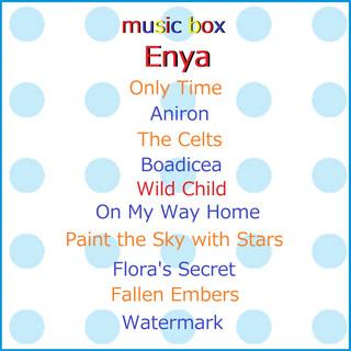 オルゴール作品集 エンヤ VOL-1 (A Musical Box Rendition of Enya Vol-1)