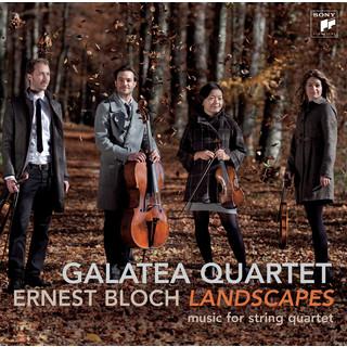 Bloch:Landscapes - Works For String Quartet