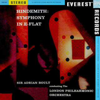 Hindemith:Symphony In E - Flat