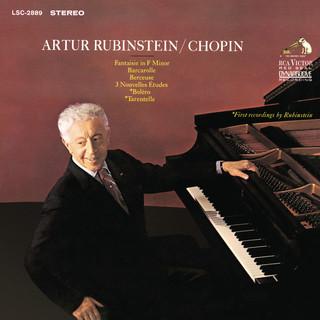 Chopin:Barcarolle, Op. 60; 3 Nouvelles Études; Boléro, Op. 19; Fantaisie, Op. 49; Berceuse, Op. 57 & Tarantelle, Op. 43