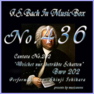 J・S・バッハ:カンタータ第202 しりぞけ、もの悲しき影 BWV202(オルゴール) (J.S.Bach:Weichet nur, betrubte Schatten, BWV 202 (Musical Box))