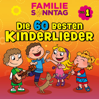 Die 60 Besten Kinderlieder, Vol. 1