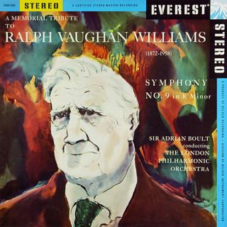 A Memorial Tribute To Ralph Vaughan Williams:Symphony No. 9