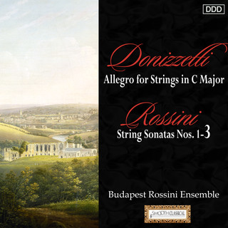 Donizetti:Allegro For Strings In C Major - Rossini:String Sonatas Nos. 1, 2 And 3
