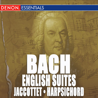 JS Bach:Complete English Suites For Harpsichord