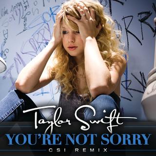 You\'re Not Sorry (CSI Remix)