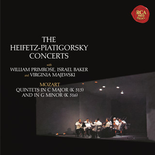 Mozart:String Quintets No. 3 In C Major, K. 515 & No. 4 In G Minor, K. 516 - Heifetz Remastered