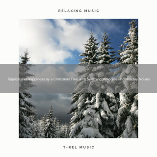 Rejoice And Happiness By A Christmas Tree With Soothing Melodies And Holiday Noises
