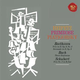 Heifetz, Primrose And Piatigorksy:The String Trio Collection - Heifetz Remastered