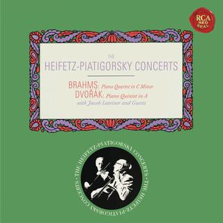 Brahms:Piano Quartet No. 3 In C Minor, Op. 60 - Dvorák:Piano Quintet No. 2 In A Major, Op. 81 - Heifetz Remastered